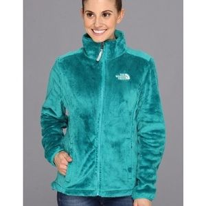 North Face Teal Osito Full Zip Jacket